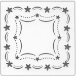 SCALLOP FLOWER FRAME