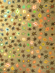 TWO TONE PAPER - GOLD STARS